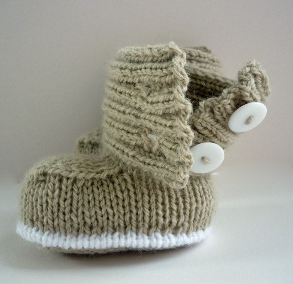 Baby Boots Knitting Pattern PDF Knitting Pattern by LoveFibres