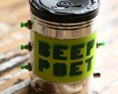 Beep Poet - Mini Homemade Noise Maker in a Can