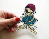 Flea Lover Sticker