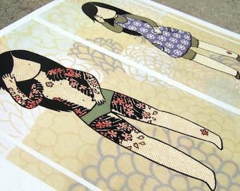 Secret Yakuza 4 color print