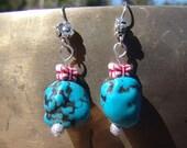 Blue Sky Butterfly Earrings (Young Artist Series)
