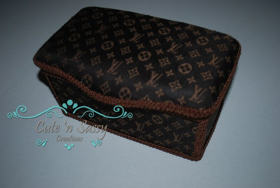 Baby Wipe Tub Louis Vuitton Inspired Covered Nursery Wipes