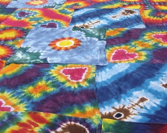 Tie-dyed bandanna