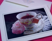 Just My Cup of Tea - Blank Greeting Card