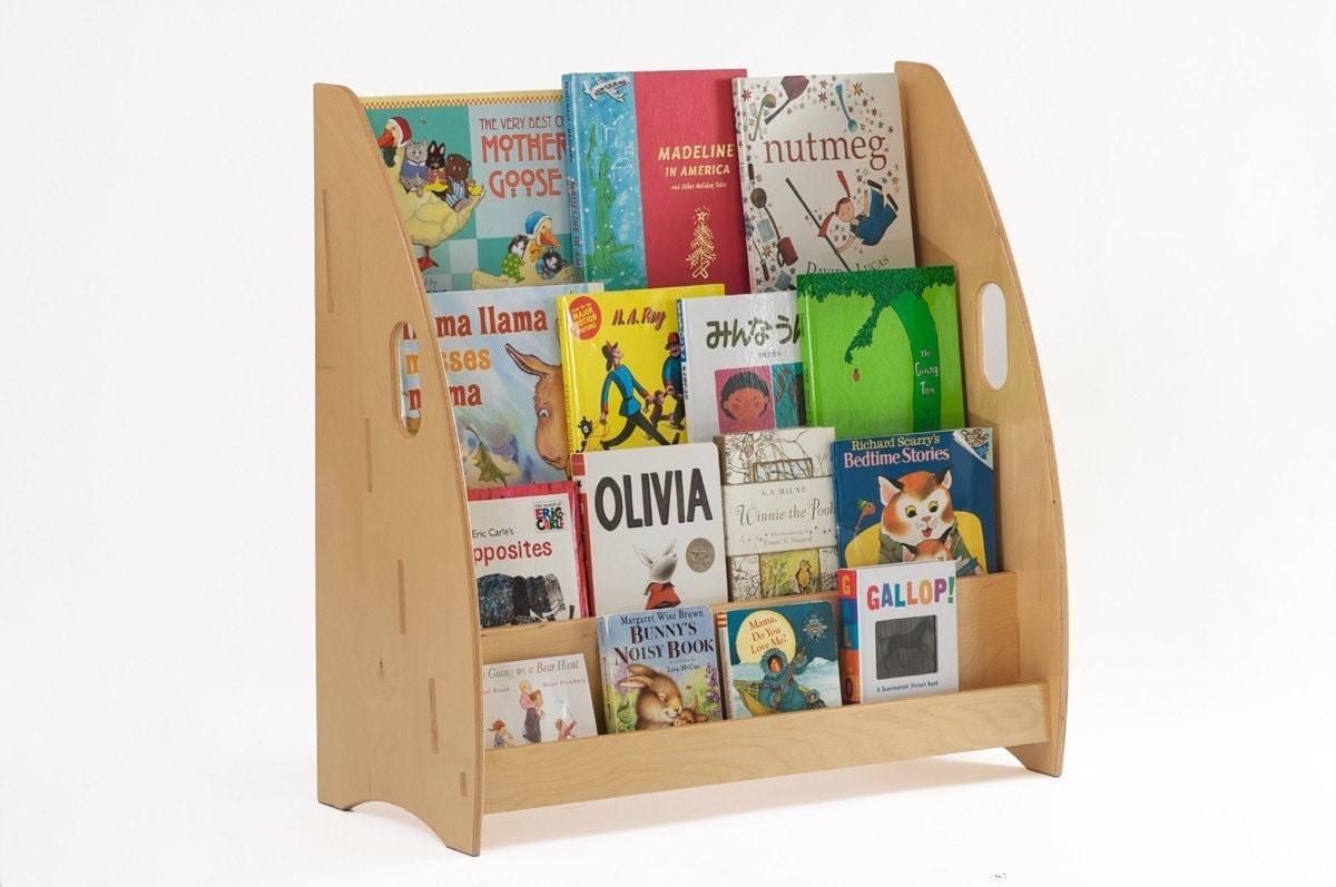 modern children 39 s bookcase and book display limited time. Black Bedroom Furniture Sets. Home Design Ideas