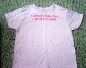 CLEARANCE - Solemnly Swear T-Shirt 4T Pink (OOPS item)