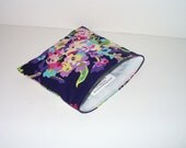 Amy Butler Midnight Waterbouquet Reusable Snack bag