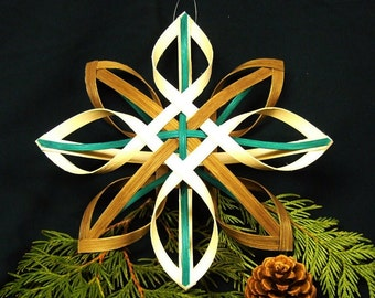 The Huldras  Hand Woven Nordic Star