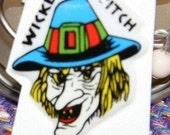 RARE1970s Wicked Witch Puffy Sticker HALLOWEEN