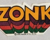 1976 Vintage Thermal Patch ZONK
