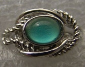 Vintage 1960-70's Fancy Mood Ring 207 Knot Rope