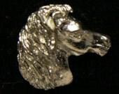 1960s New York Zoo Pin HORSE HEAD