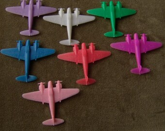 1960s Cracker Jack Airplane G3300 Series PLANE 2