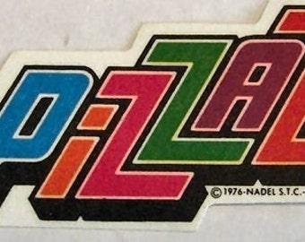 1976 Vintage Thermal Patch PIZZAZ