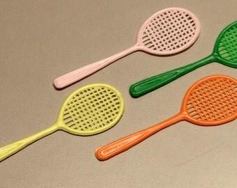 Four 1950s Cracker Jack Tennis Rackets HARD TO FIND