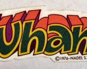 1976 Vintage Thermal Patch WHAM