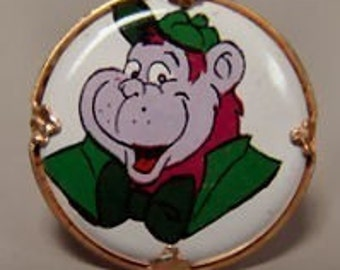 Grape Ape 1970's Hanna Barbera Cartoon Ring