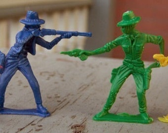 1960s Cowboys and Indians Set of Ten DETAILED