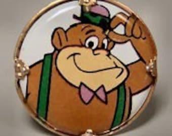 Magilla Gorilla 1970s Hanna Barbera Cartoon Ring