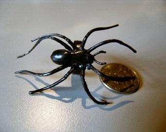 1960s Gigantic Black Spider Ring SPIDERMAN
