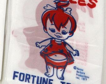 1977 PEBBLES FLINTSTONE Fortune Teller Novelty Carnival Toy