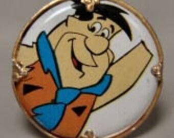 Fred Flintstone 1970s Hanna Barbara Cartoon Ring