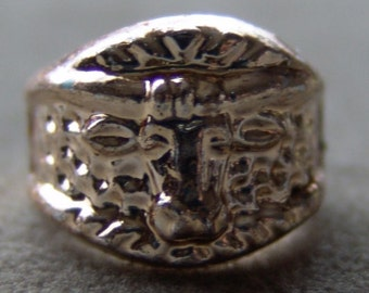 Original 1950s-60s Penny King Ring WESTERN STEER