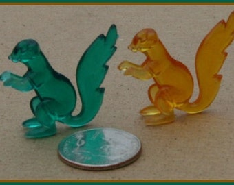 Set of Two 1950s Ringling Bros Barnum and Bailey Circus Animal SQUIRELLS