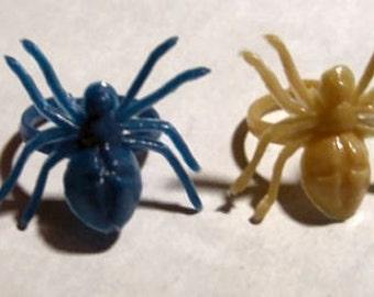 Vintage 1960's Creepy Crawler Ring SPIDER