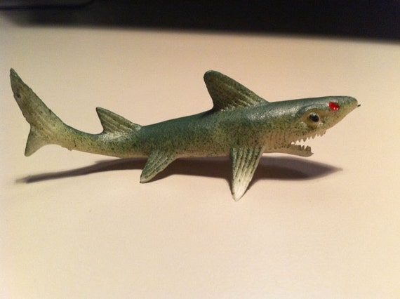 1960s GIGANTOR Gum Machine SHARK Toy from Sea Life Collection