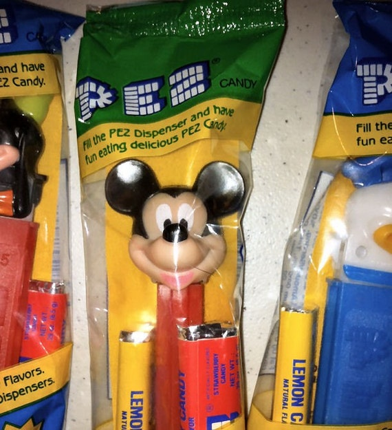 1990 Mickey Mouse PEZ Dispenser Toy from Hungary 4.9 UNOPENED