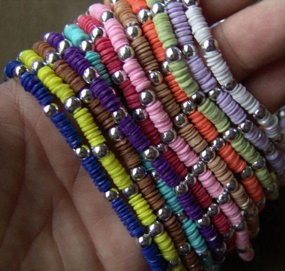 1981 Little Girl Sequin Necklace LIGHT PURPLE