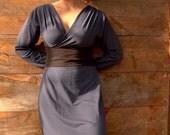 Lotus Dress - Long Sleeve (Soy or Bamboo Organic Cotton)
