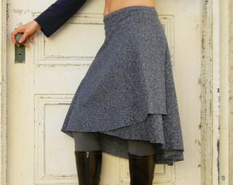 Organic Cotton and Hemp Wrap Skirt
