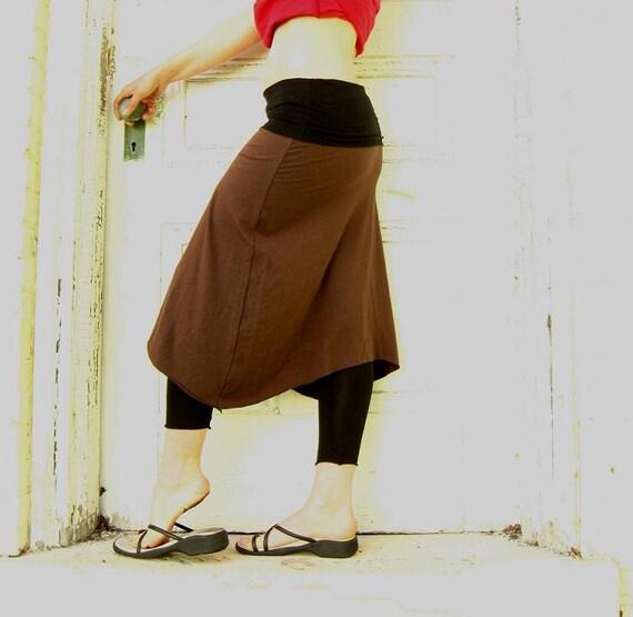 Wear it Three Ways - Skirt/Dress/Poncho (Soy or Bamboo Organic Cotton)