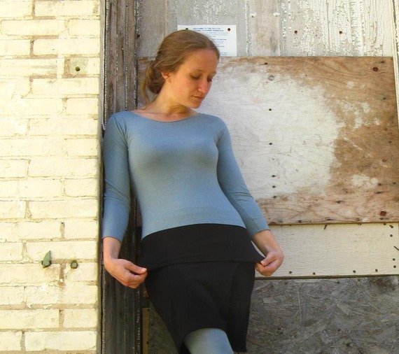 My Second Skin Long Sleeve Shirt - (Soy or Bamboo Organic Cotton)