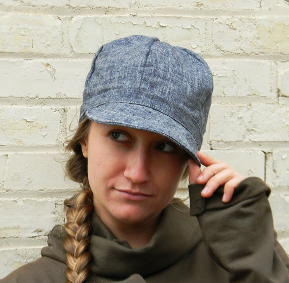 The Welder's Cap (Hemp Organic Cotton Denim)