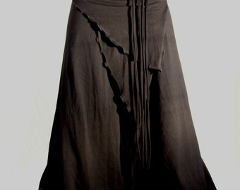 Yoga tribal bellydance VERY comfy pants black - YOUR SIZE