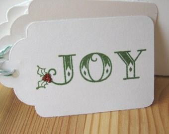 Christmas Joy Gift Tags