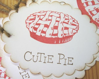 Cutie Pie Gift Tags
