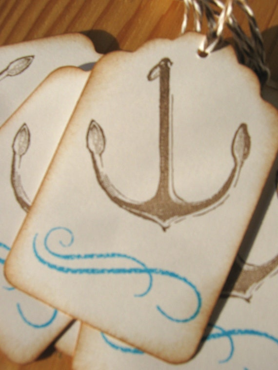 Your Love Anchors Me, Anchor Gift Tag, Beach Wedding Tags