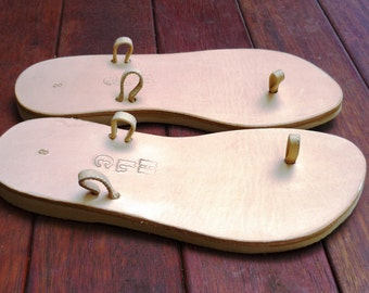 Leather Sandal - Mypick - Natural colour Base