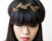 headband by icecreamcandy-fall brown leafs