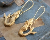 Sweet Siren Song Mermaid Earrings