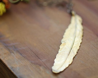 Lucky Magical Feather Necklace
