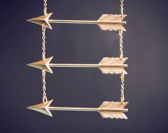 Go Your Own Way Arrow Necklace