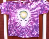 Grateful Dead Tie Dye T-Shirt - Steal Your Face - Adult 2XL - Ready to Ship