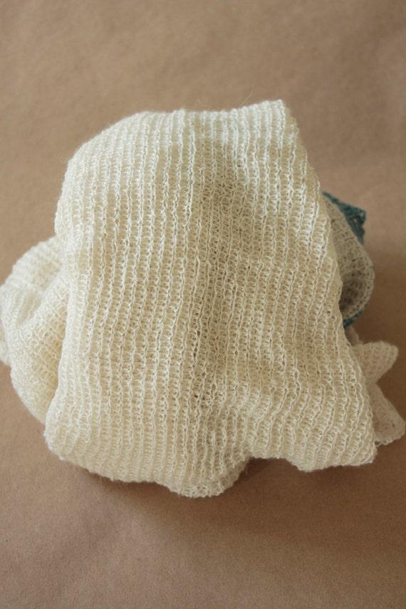 Lorelai Lace - UNDYED and Machine Knit