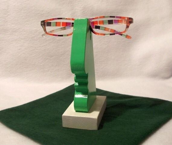 Wood Nose - Glasses Holder