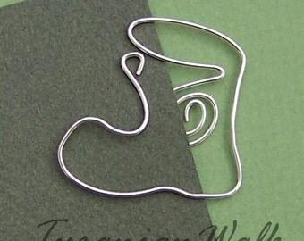 Trekking boot - wire bookmark